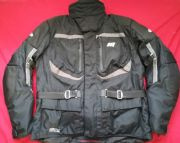 "HEIN GERICKE SUMMIT  GORETEX CORDURA MOTORBIKE JACKET 49"" 50"" CHEST  EU 60  XXXL"